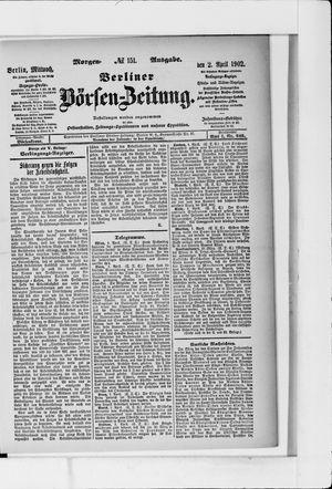 Berliner Börsen-Zeitung vom 02.04.1902