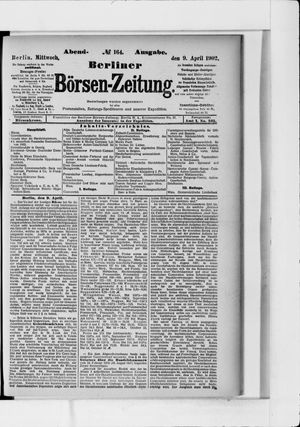 Berliner Börsen-Zeitung vom 09.04.1902