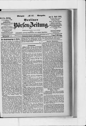Berliner Börsen-Zeitung vom 11.04.1902