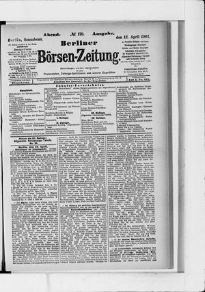 Berliner Börsen-Zeitung vom 12.04.1902