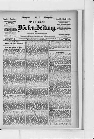 Berliner Börsen-Zeitung vom 13.04.1902
