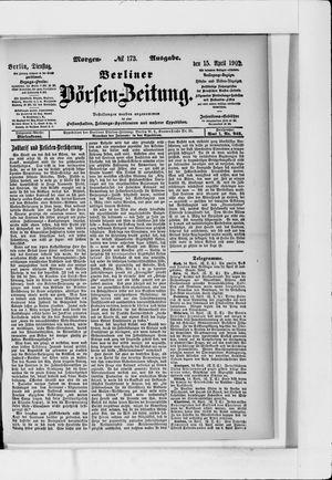 Berliner Börsen-Zeitung vom 15.04.1902