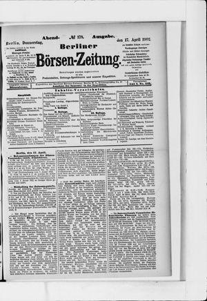 Berliner Börsen-Zeitung vom 17.04.1902