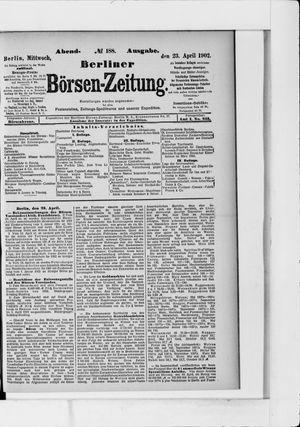 Berliner Börsen-Zeitung vom 23.04.1902