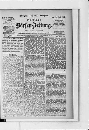 Berliner Börsen-Zeitung vom 29.04.1902