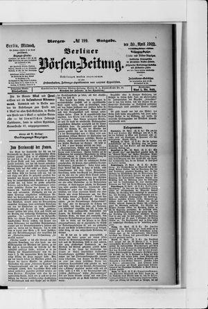 Berliner Börsen-Zeitung vom 30.04.1902