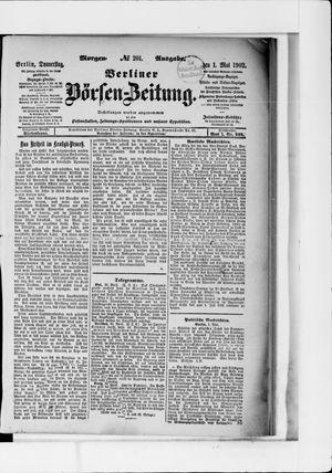Berliner Börsen-Zeitung vom 01.05.1902