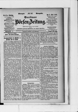 Berliner Börsen-Zeitung vom 04.05.1902