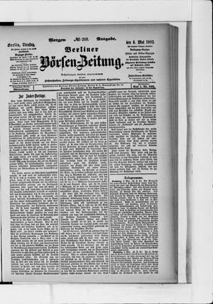 Berliner Börsen-Zeitung vom 06.05.1902