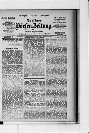 Berliner Börsen-Zeitung vom 08.05.1902