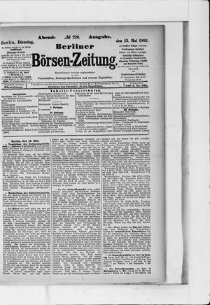 Berliner Börsen-Zeitung vom 13.05.1902