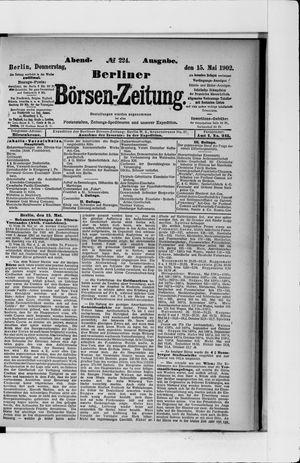 Berliner Börsen-Zeitung vom 15.05.1902