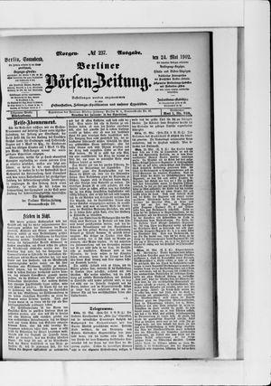 Berliner Börsen-Zeitung vom 24.05.1902