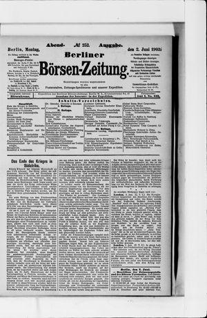 Berliner Börsen-Zeitung vom 02.06.1902