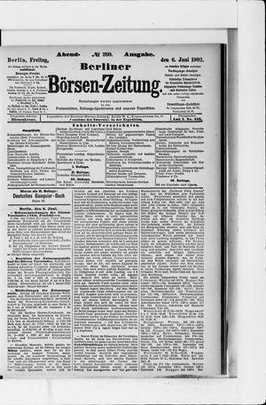 Berliner Börsen-Zeitung vom 06.06.1902