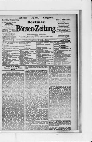 Berliner Börsen-Zeitung vom 07.06.1902