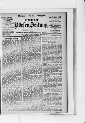 Berliner Börsen-Zeitung vom 13.06.1902