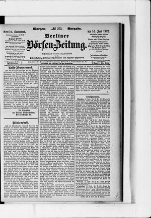Berliner Börsen-Zeitung vom 14.06.1902