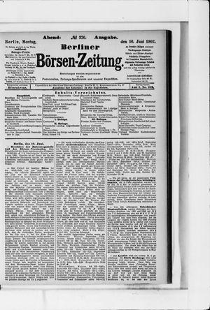 Berliner Börsen-Zeitung vom 16.06.1902