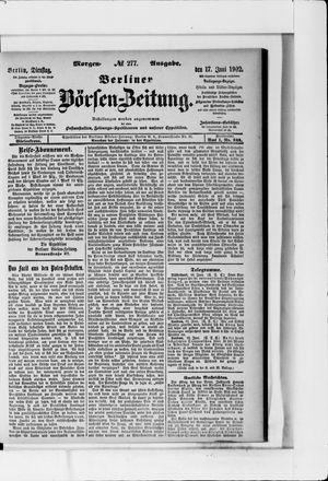 Berliner Börsen-Zeitung vom 17.06.1902