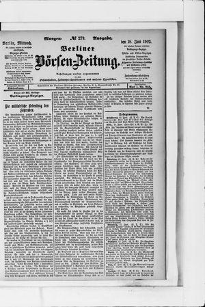 Berliner Börsen-Zeitung vom 18.06.1902