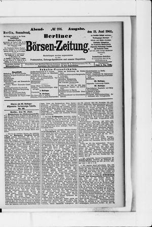 Berliner Börsen-Zeitung vom 21.06.1902