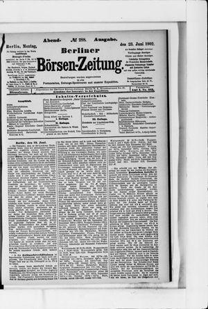 Berliner Börsen-Zeitung vom 23.06.1902