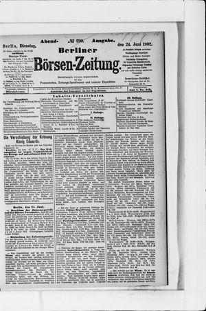 Berliner Börsen-Zeitung vom 24.06.1902