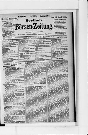 Berliner Börsen-Zeitung vom 28.06.1902