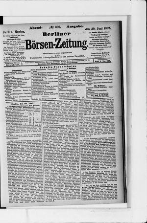 Berliner Börsen-Zeitung vom 30.06.1902
