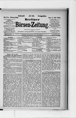 Berliner Börsen-Zeitung vom 03.07.1902