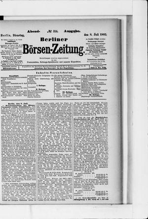 Berliner Börsen-Zeitung vom 08.07.1902