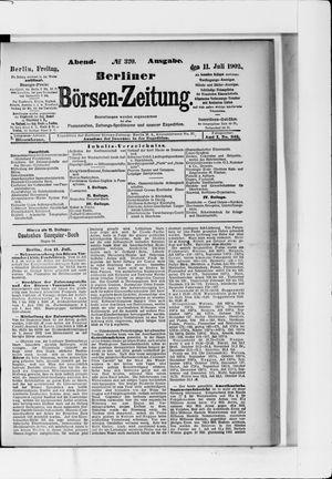 Berliner Börsen-Zeitung vom 11.07.1902