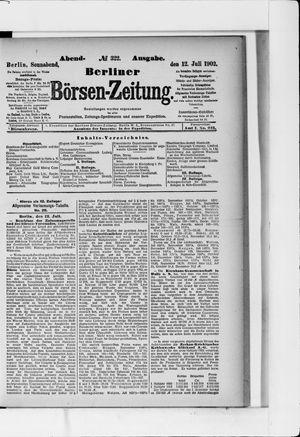 Berliner Börsen-Zeitung vom 12.07.1902