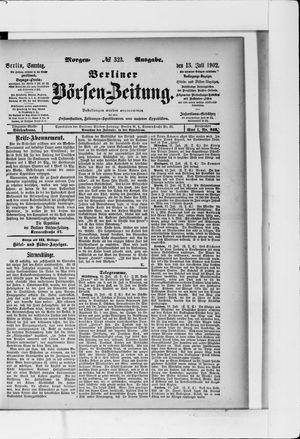 Berliner Börsen-Zeitung vom 13.07.1902