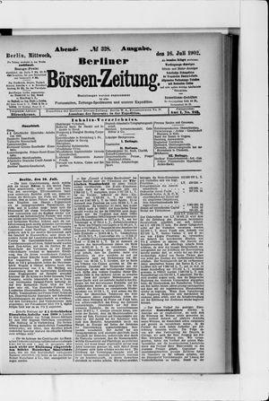 Berliner Börsen-Zeitung vom 16.07.1902