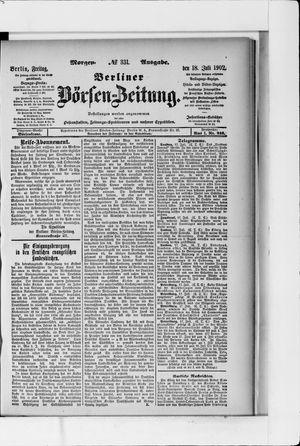 Berliner Börsen-Zeitung vom 18.07.1902
