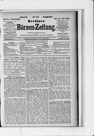 Berliner Börsen-Zeitung vom 24.07.1902