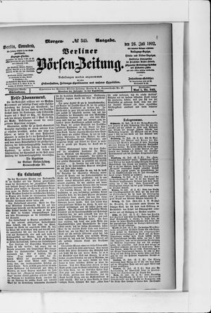 Berliner Börsen-Zeitung vom 26.07.1902