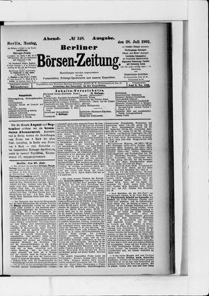 Berliner Börsen-Zeitung vom 28.07.1902