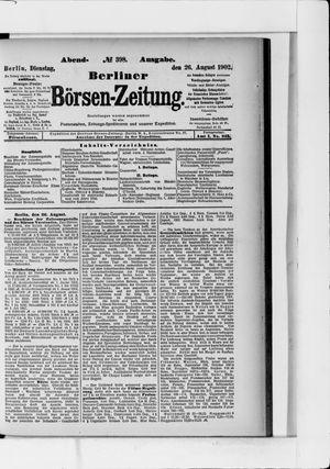 Berliner Börsen-Zeitung vom 26.08.1902