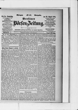 Berliner Börsen-Zeitung vom 28.08.1902