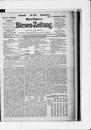 Berliner Börsen-Zeitung vom 01.09.1902