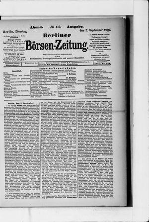 Berliner Börsen-Zeitung vom 02.09.1902