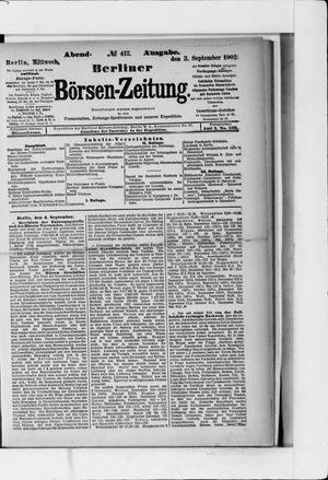 Berliner Börsen-Zeitung vom 03.09.1902
