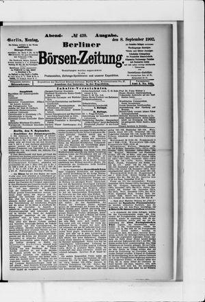 Berliner Börsen-Zeitung vom 08.09.1902