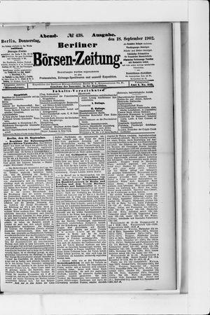 Berliner Börsen-Zeitung vom 18.09.1902