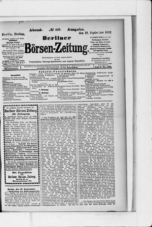 Berliner Börsen-Zeitung vom 19.09.1902