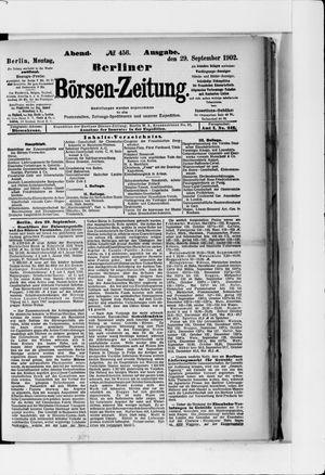 Berliner Börsen-Zeitung vom 29.09.1902