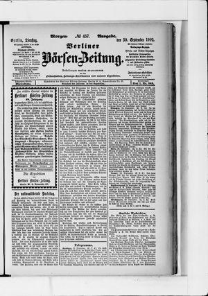 Berliner Börsen-Zeitung vom 30.09.1902